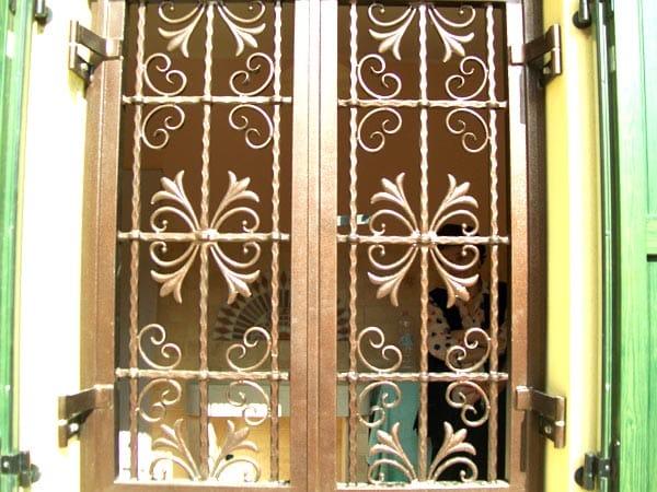 Inferriate per serramenti modena reggio emilia sile - Costo inferriate per finestre ...